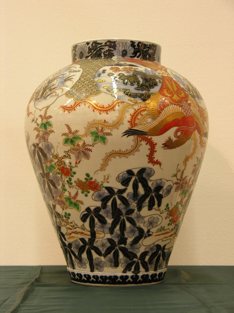 Китайские вазы своими руками 4585